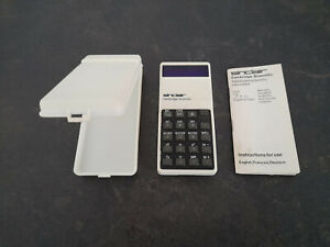 Sinclair Cambridge Scientific Calculator working with case and instructions