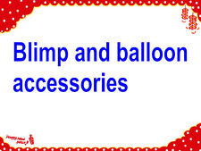 Extra cost for for shipping, accessories, blimps light, banner, movie fabric