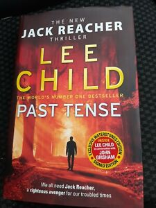 Signed Jack Reacher Book 'Past Tense' by Lee Child Exclusive Edition