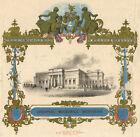 Liverpool Mechanics' Institution – Original mid-19th-century lithograph print
