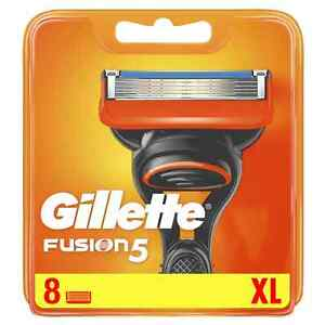 Gillette Fusion 5 Razor Blades 8 pack - NEW, SEALED, FREE P&P