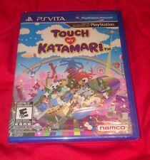 ULTRA RARE BRAND NEW SEALED Touch My Katamari PS PlayStation Vita NTSC USA / CAN
