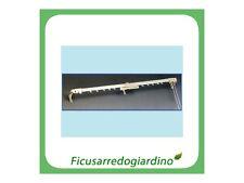 SCORRITENDA SCORRI TENDA CLASSICO PROFILO BASSO ESTENSDIBILE 122-213 cm- 425236