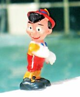 Disneykins  Pinocchio Tinykins MARX Toy Figurine Handpainted-1961