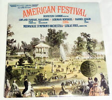 Milwaukee Symphony Orchestra: American Festival  [Unplayed- Half Speed Pressing]