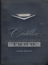 1960 Cadillac Data Book Original OEM Showroom Album Facts for all models