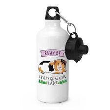 Hüten Sie Sich Vor Crazy Meerschweinchen Lady Sport Getränkeflasche Zelten