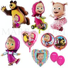 Foil Balloon Masha and the Bear, Masha Balloon Birthday Party Set 32''