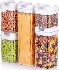 5Pc hermétique empilable cuisine nourriture sèche conteneur de stockage spécial ...