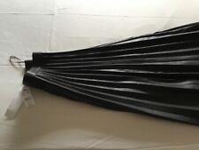 Topshop Black pleated skirt