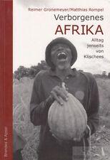 Verborgenes Afrika: Gronemeyer, Reimer / Rompel, Matthias