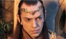 Movie Lotr Hobbit Galadriel Elrond Gold Filled Crown Circlet Elven Lord Wedding