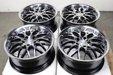 17 5x120 Black Wheels Fits Bmw 135 320 328 Xdrive 325 Z3 Z4 X1 X3 X5 5 Lug Rims