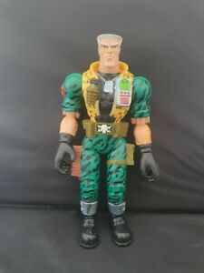 """Vintage Small Soldiers 12"""" Major Chip Hazard Talking & Punching Action Figure"""