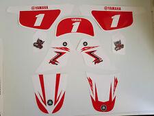 Kit deco pour moto cross Yamaha PW50 PW 50 Rouge Vintage Qualité Standard