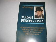 RABBI MORDECHAI GIFTER  Torah perspectives : an eminent rosh yeshivah expounds