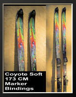 Research Dynamics RD Coyote  185cm Snow Skis with Marker Bindings