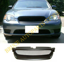 Front Bumper Sport Mesh Grill Grille For JDM Subaru Legacy 05 06 07 2005-2007