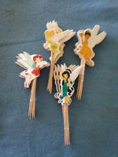 Cupcake Cake  Toppers Tinkerbell Fairy 24pcs