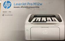 HP LaserJet pro M12w schwarz/weiß wlan fähig