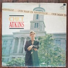 Chet Atkins Our Man In Nashville 33rpm LP VG+