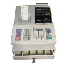 Sharp Electronic Cash Register Model Xe A203 With All Keys