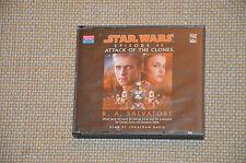 CD audio Attack of the Clones / Star wars 2 - d'après de R.A. Salvator - ANGLAIS