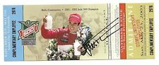 2003 GIL DE FERRAN signed 87TH INDIANAPOLIS 500 UNUSED TICKET INDY CAR PENSKE wC