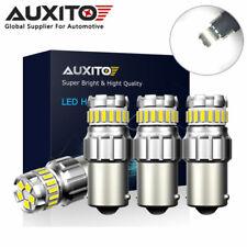 4X AUXITO 1156 BA15S P21W LED Reverse Brake Parking Light Bulb 6000K Canbus
