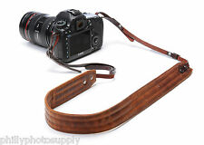 Ona Presidio Antigue Cognac Leather Handcrafted Camera Straps ->Free US Shipping