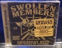 Swollen Members - Greatest Hits CD & DVD SEALED Madchild suburban noize everlast