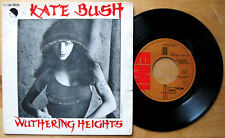 """KATE BUSH Wuthering Heights - Single 7"""" EMI 1978 Spain Spanish FIRST PRESSING"""