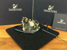 Swarovski personaje caballito rodio ornament 4 cm con embalaje original & certificado