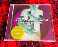 Joe Satriani Is There Love In Space ?  CD Come Nuovo 2004