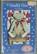 """Vintage """"GRUFFY GUS"""", My Old Bear 25"""" from Creative Collectibles    1990"""