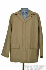 LORO PIANA Solid Beige STORM SYSTEM Polyester Mens Jacket Coat - XL