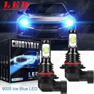LED Headlight Kit Bulbs High Beam 9005 8000K for 2016-2019 2020 2021 Honda Civic