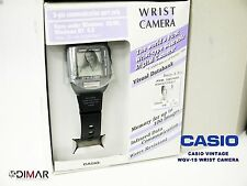CASIO VINTAGE COLLECTION WQV-1 NOS WRIST CAMERA, VISUAL DATABANK