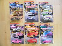 MoYShop Matchbox aus USA 6 Süßigkeiten Mini Van und VW T1 Butterfinger - rar!