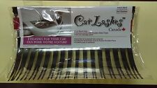 Black CarLashes (r) Headlight Eyelashes Accessories 3M Sticker