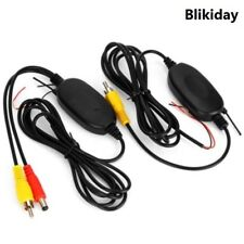 2.4G Wireless Color Video Transmitter Receiver Kit for Car DVD Monitor Camera