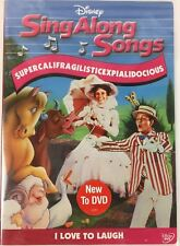 Sing Along Songs Supercalifragilisticexpialidocious BRAND NEW FACTORY SEALED