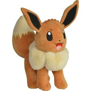 """New Official Pokémon Toy - 8"""" Plush Wave 9 - Eevee"""