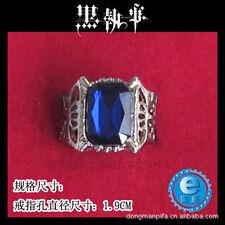 Black Butler Kuroshitsuji Sebastian Michaelis Ciel Cosplay Ring