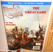 Strategy & Tactics Mag w/Game #232 Solitaire Game 18thC Catherine the Great