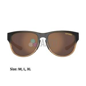 Tifosi Smoove Single Lens Sports Eyewear Mocha Fade/Brown