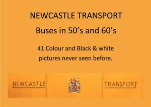 Booklet Newcastle Transport Buses in the 50's and 60's part 1