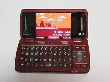 LG enV3 LG-VX9200M Verizon Wireless Slider Cell Phone Dark Red/Burgundy/Maroon