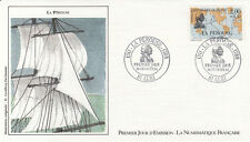 Enveloppe 1er Jour NAVIGATION BATEAU MER ALBI 20/02/1988 La PEROUSE illus. orig.