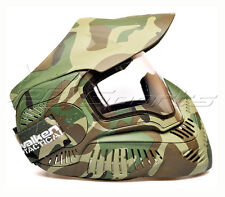 Valken Sly Annex MI-7 Woodland with thermal anti-fog clear Lens Goggle Mask